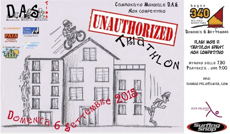unautorhized triathlon